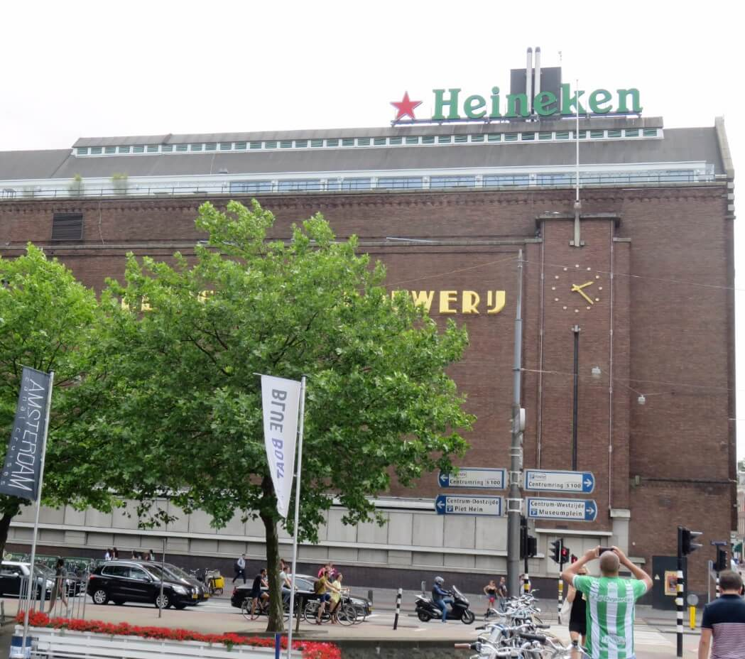 Historic Heineken Brewery in Amsterdam