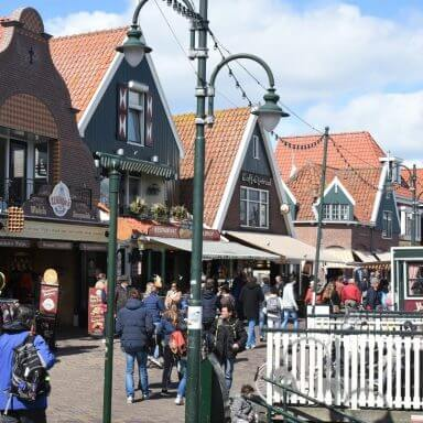 Pretty and quaint Volendam