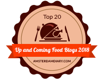 Banners for Top 20 Up and Coming Food Blogs