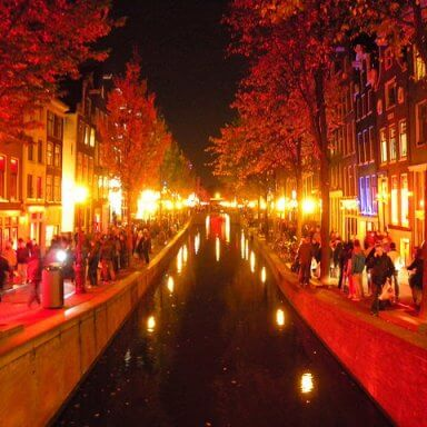 Amsterdam nachtleven