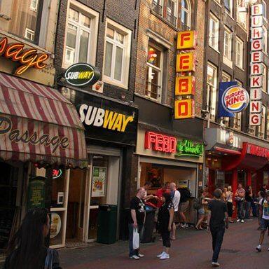 Eetgelegenheden in Amsterdam vinden